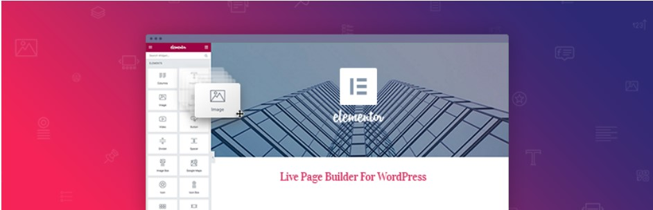 Drag and drop page builder for wordpress elementor pro